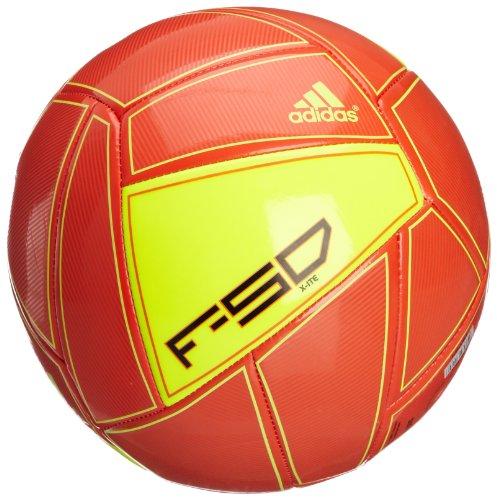 adidas - Balón de fútbol, tamaño 5 UK, Color High Energy/elecricity/Negro