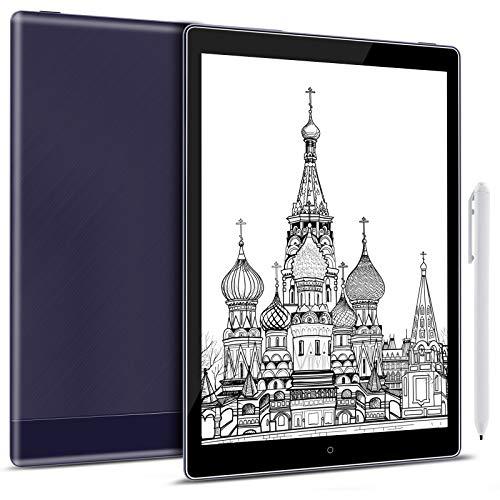 Taotuo Nova3 - Tablet de 10,1 pulgadas, Android 8.1, luz frontal CTM 64 GB, HD, OTG, WiFi, BT USB-C, color negro