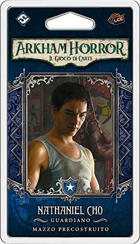 Fantasy Flight Games - Arkham Horror Lcg, Investigador, Nathaniel Cho, expansión, Multicolor, 9649
