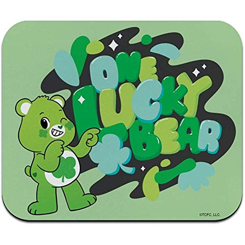 Mausunterlage Mauspad rutschfeste Pflegebären Entsperren Sie Die Dünne Mausunterlage Mousepad-9,8 X 11,8 Zoll Von Magic One Lucky Bear Low Profile