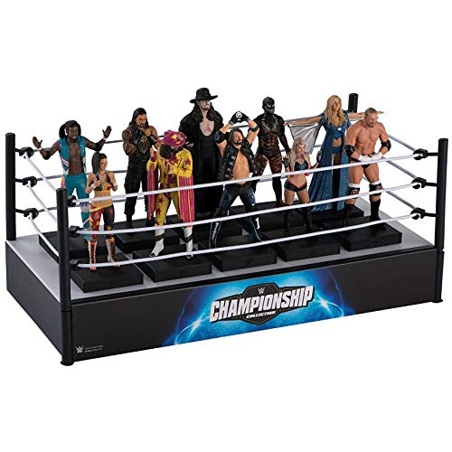 Hero Collector WWE Championship Collection | WWE Championship Display Wrestling Ring by Eaglemoss