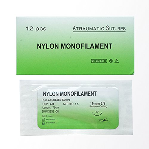 For Students training use suture needle with thread