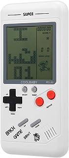 Goolsky RS-99 Consola de Juegos clásicos Juego de Bloques Tetris Juego de Rompecabezas Juegos de Mano Máquina de Juegos de...