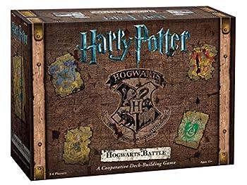 Harry Potter Hogwarts Battle Cooperative Deck Building Card Game   Official Harry Potter Licensed Merchandise   Harry Potter Board Game   Great Gift for Harry Potter Fans   Harry Potter Movie artwork