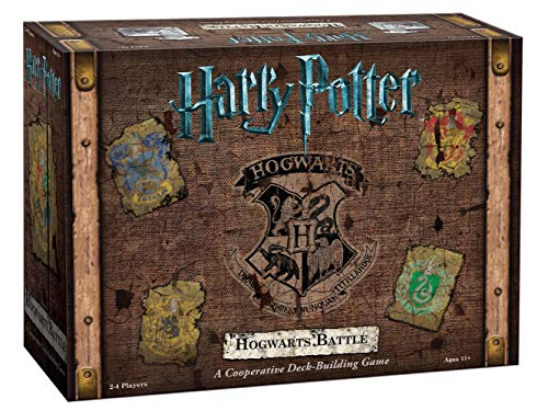 USAopoly USODB010400 Harry-Potter- Kartenspiel Hogwarts Battle (evtl. Nicht in Deutscher Sprache)