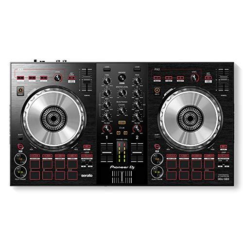 Amazing Deal T-king DJ Controller -DJ Hero Beat Slice LTGEM Case For Pioneer DJ DDJ SB3 Portable 2 C...