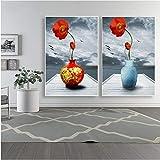 NR Moderne Kunst Poster und Drucke Wandkunst Leinwand