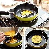 yui Suministros de cocina WALFOS 5 unids/set de acero inoxidable lindo forma de huevo frito molde de panqueque anillos molde herramienta de cocina restaurante suministros de cocina