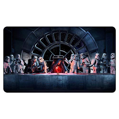 hhjxptst Teppich - Letztes Abendmahl Star Wars Playmat Magische Brettspiele Spielen Sie Custom Design Rug Table Game Pad