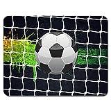 Meffort Inc Standard 9.5 x 7.9 Inch Mouse Pad - Soccer