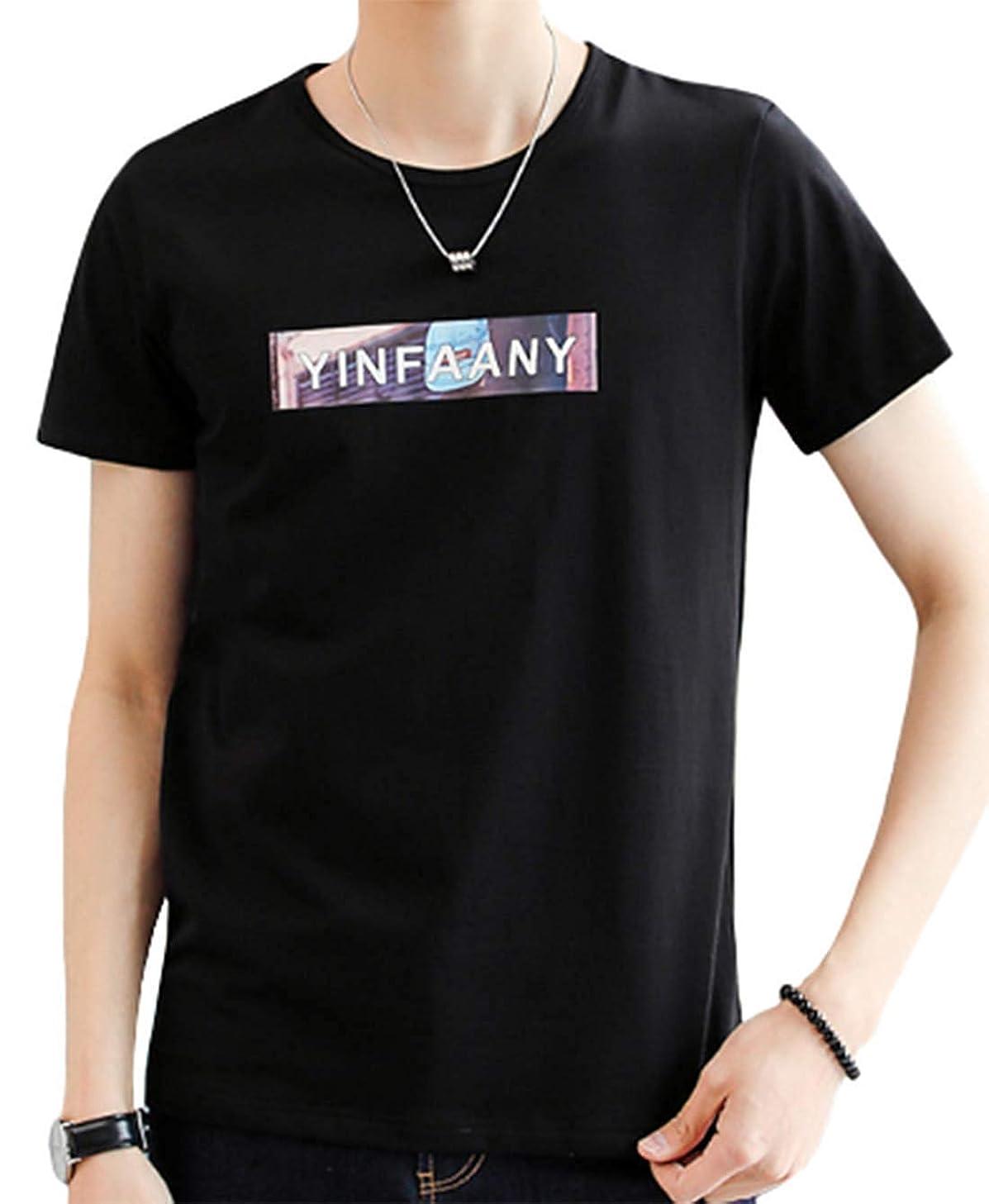 汚す換気する匿名[ Smaids x Smile (スマイズ スマイル) ] Tシャツ トップス 半袖 涼 ゆったり 無地 プリント クルー おしゃれ メンズ
