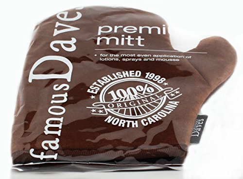 Self Tanning Application Mitt - Use Applicator Glove with Self Tanner Lotion or Mousse