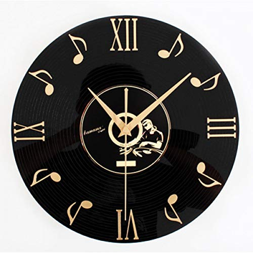 30 Mm Thick Plate Orologio da parete grande Orologio da parete Tivoli For Audio Note Datato 3 D Cd Fashion S Wall Clock