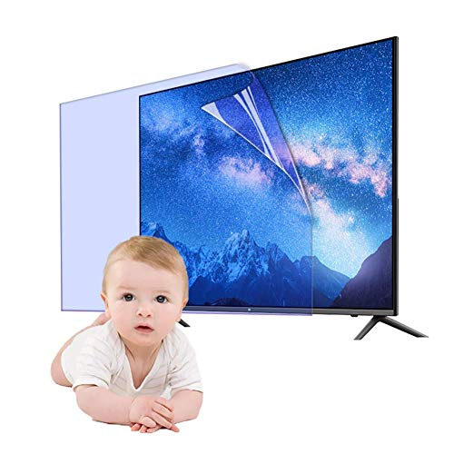 N / A Pantalla de 32-65 Pulgadas Anti-deslumbramiento TV Alfombra Protector/Anti Hacer una película Azul Claro, Suave luz Fatiga Visual aliviar LCD, LED, de 40 Pulgadas 875 x 483,49 Pulgadas