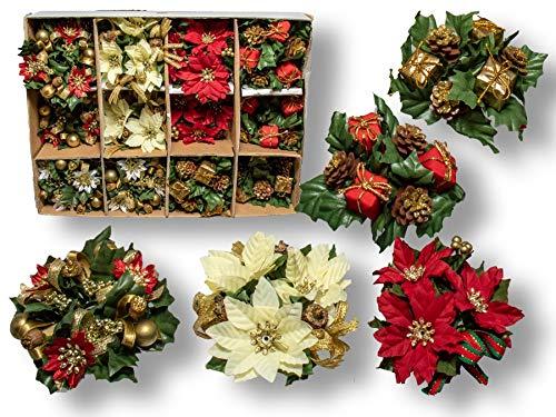 Brema Kerzenringe 24-Teilig Weihnachten