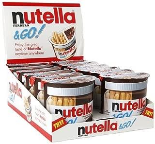 nutella  GO Hazelnut Spread  Breadsticks 52gx12パック ヌテラ 海外直送