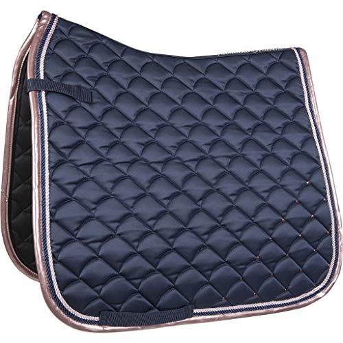 HKM Sports Equipment GmbH Guabrack - Copper per cuscino (Dressur, blu scuro)