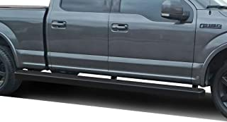 APS Wheel to Wheel iBoard 5 inches Custom Fit 2015-2020 Ford F150 SuperCrew Cab 6.5ft Bed Pickup 4-Door & 2017-2020 Ford F-250 F-350 SuperCrew Crew Cab (Nerf Bars Side Steps Side Bars)