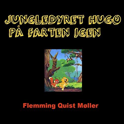 Jungledyret Hugo på farten igen audiobook cover art