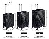Zoom IMG-2 amazonbasics valigia trolley rigido 55