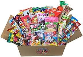 "GIFT Japanese Snack Assortment 35 pcs of 27 Types Full of""DAGASHI"", OHIMESAMA Snack Selection (M)"