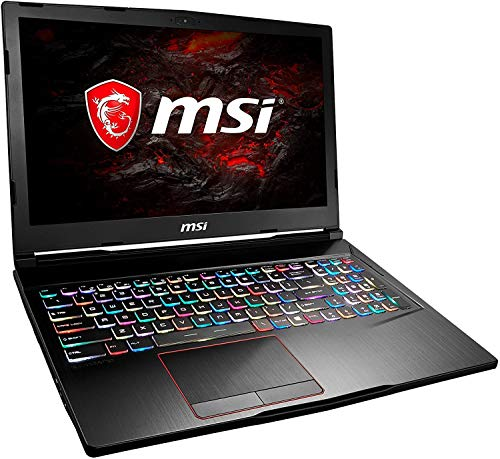 MSI GE63 7RD Raider 15.6' FullHD IPS 120Hz Gaming Laptop, Core i7 7700HQ, 16GB DDR4, 1TB SSD & 1TB HDD, Nvidia GeForce GTX 1050 Ti 4GB, WIFI 5 & Bluetooth 4.2, Windows 10 Pro – UK Keyboard Layout