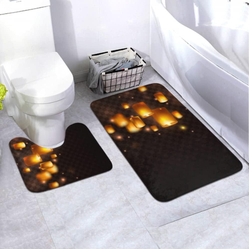 Bath Mat Deluxe Set Lanterns Isolated Transparent San Jose Mall Diwali Background On