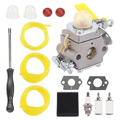 SNOWINSPRING Carburador C1U-H60 para Ryobi Homelite 25Cc RY28141 UT33600 UT33650 308054013 308054012 Piezas de Cortadora de Hilo
