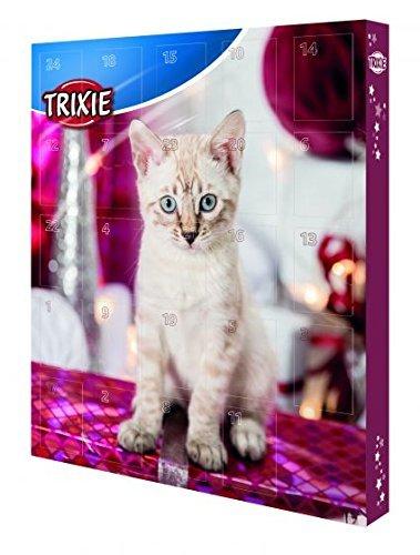 TRIXIE Ensemble de 2 pièces Calendrier de l'Avent et cadeau pour chats
