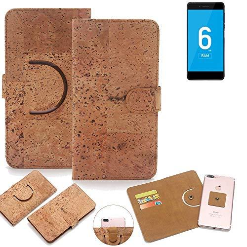 K-S-Trade Handy Schutz Hülle Für Vernee Mars Pro 4G Korkhülle 1x