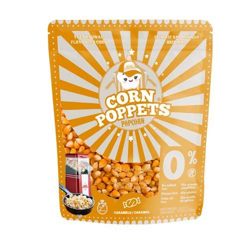 Corn Poppets | Granos de Maíz para Palomitas Dulces Sabor Caramelo | Palomitas Saludables , 100 % Natual | Bolsa de 500 gr