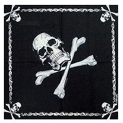 Skull And Crossbone Bandana