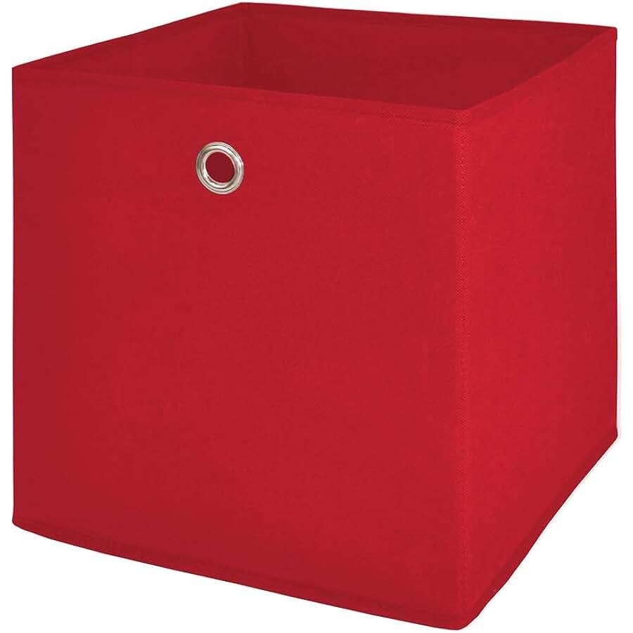 M/öbel Akut Faltbox 4er Set anthrazit schwarz Aufbewahrungsbox f/ür Raumteiler oder Regale