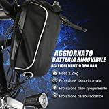 Zoom IMG-1 bikfun 26 bicicletta elettrica pieghevole