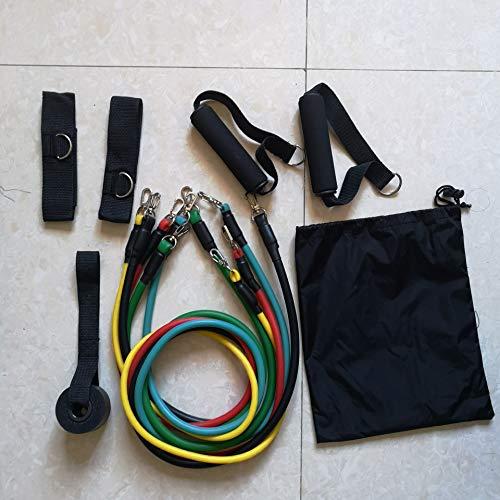 Huyan Seil für Rallye, doppelte Schicht, Latex-Folie, elastisch, flach, TPE Seil für Rally