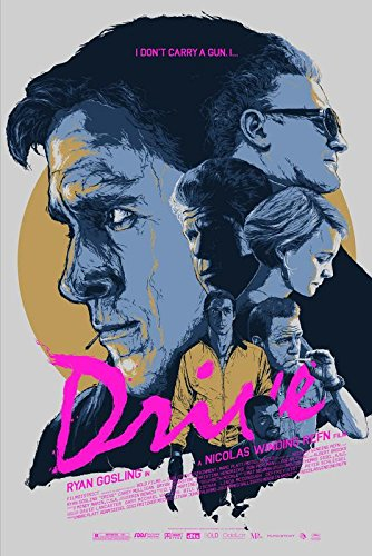 Import Posters Drive – Ryan Gosling - U.S Movie Wall Poster Print - 30CM X 43CM