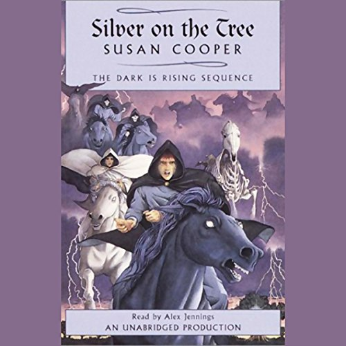 Silver on the Tree audiobook cover art