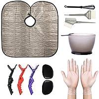 12-Piece Aqziill Professional DIY Hair Coloring / Hair Dye Kit