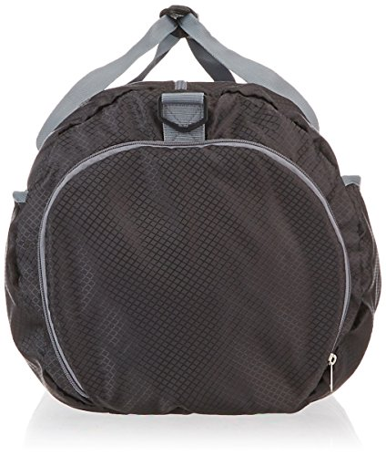 Amazon Basics Packable Travel Gym Duffel Bag - 27 Inch, Black Kentucky