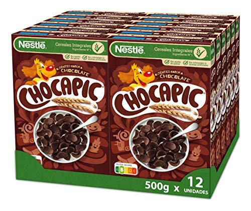 Cereales Nestlé Chocapic - 12 paquetes de 500 g