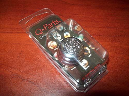 Q-Parts Ringo Knob - CELTIC WEAVE ON CHROME, KCR-0615