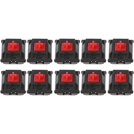 ILS. - 10 Pieces RGB Series Red Mechanical Switch for Cherry ...