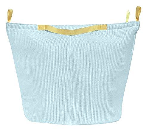 シービージャパン 洗濯 ネット ブルー そのまま洗えるバスケット 3層メッシュ生地 Kogure