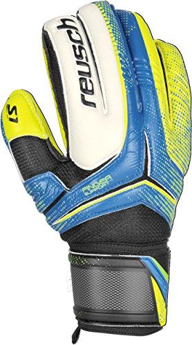 Reusch Soccer Receptor Prime S1 Finger Support Junior Goalkeeper Glove, 5, Pair