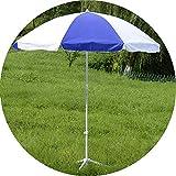 YYBD Sombrilla portátil para Playa y Patio, sombrilla con Altura Ajustable, protección Solar instantánea Ligera