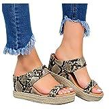 YHIIen Pantofole da donna, comode e ortopediche, antiscivolo, con aperture e aperte #04-marrone S