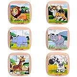 Zoom IMG-1 rolimate puzzle di legno leone