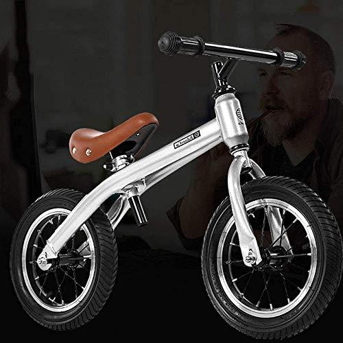 ZTBXQ Regalo Deportivo ldeas Freestyle Bicicletas para niños 12 Pulgadas 2-6 años Coche Infantil Rueda Inflable Scooter Andador sin Pedal Cochecito de bebé Bicicleta