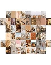 Esthetische Foto's Muurcollage Kit 50st Kleurrijke 4X6 Inch Wall Art Print Foto Collectie Kleurrijke Postkaart Poster Muur Decor Voor Tieners En Jonge Volwassenen Slaapzaal Slaapkamer Kamer