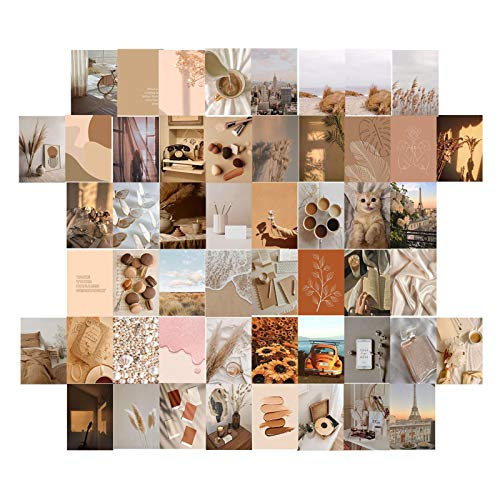 Esthetische Foto's Muurcollage Kit 50st Kleurrijke 4X6 Inch Wall Art Print Foto Collectie Kleurrijke Postkaart Poster…